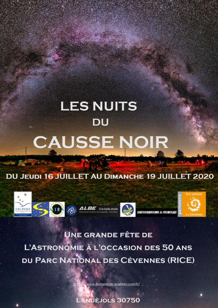 Les Nuits du Causse Noir @ Camping du Domaine de Pradines
