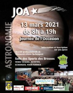 JOA: Journée de l'Occasion en Astronomie ANNULÉE @ Gymnase Des Brosses